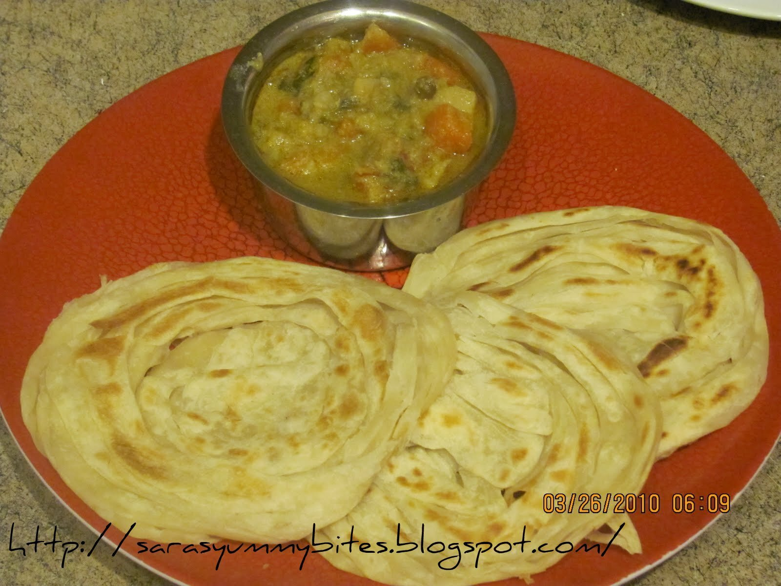 parathas and puries