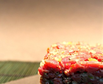 Steak Tartar(e), a cuchillo y con chispa