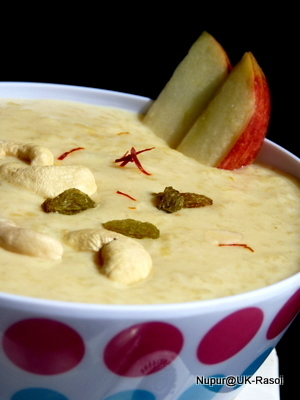 Apple Kheer / Pudding ~:~ Pure Delight