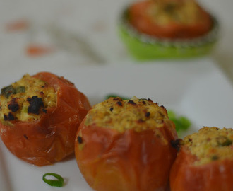 Stuffed Tomatoes with Cottage Cheese