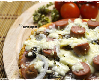Pizza Light (sem hidratos de carbono)