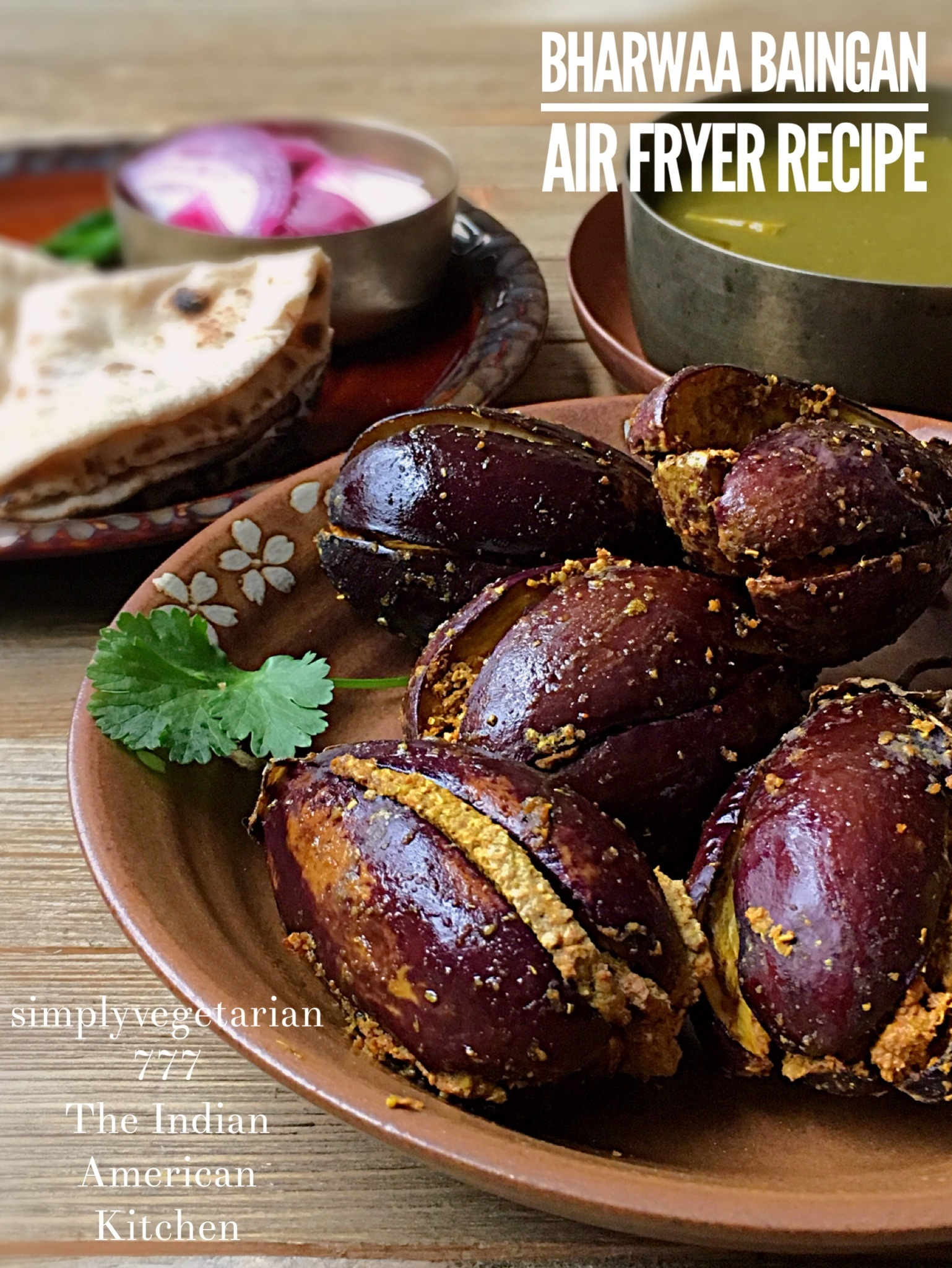 Bharwaan Baingan Air Fryer Recipe