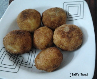Fried Bread Potato balls/Fritters