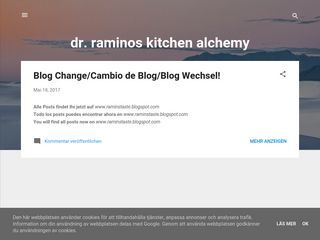 Dr.raminos kitchen alchemy