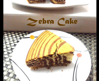 Zebra Cake from scratch