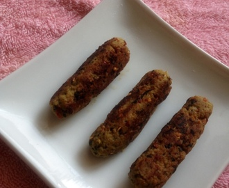 Spicy Chicken seekh Kebab