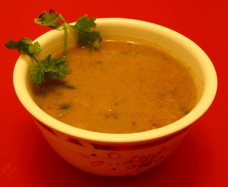 Goan Style Toor daal cooked with coconut (Split red gram cooked with coconut)