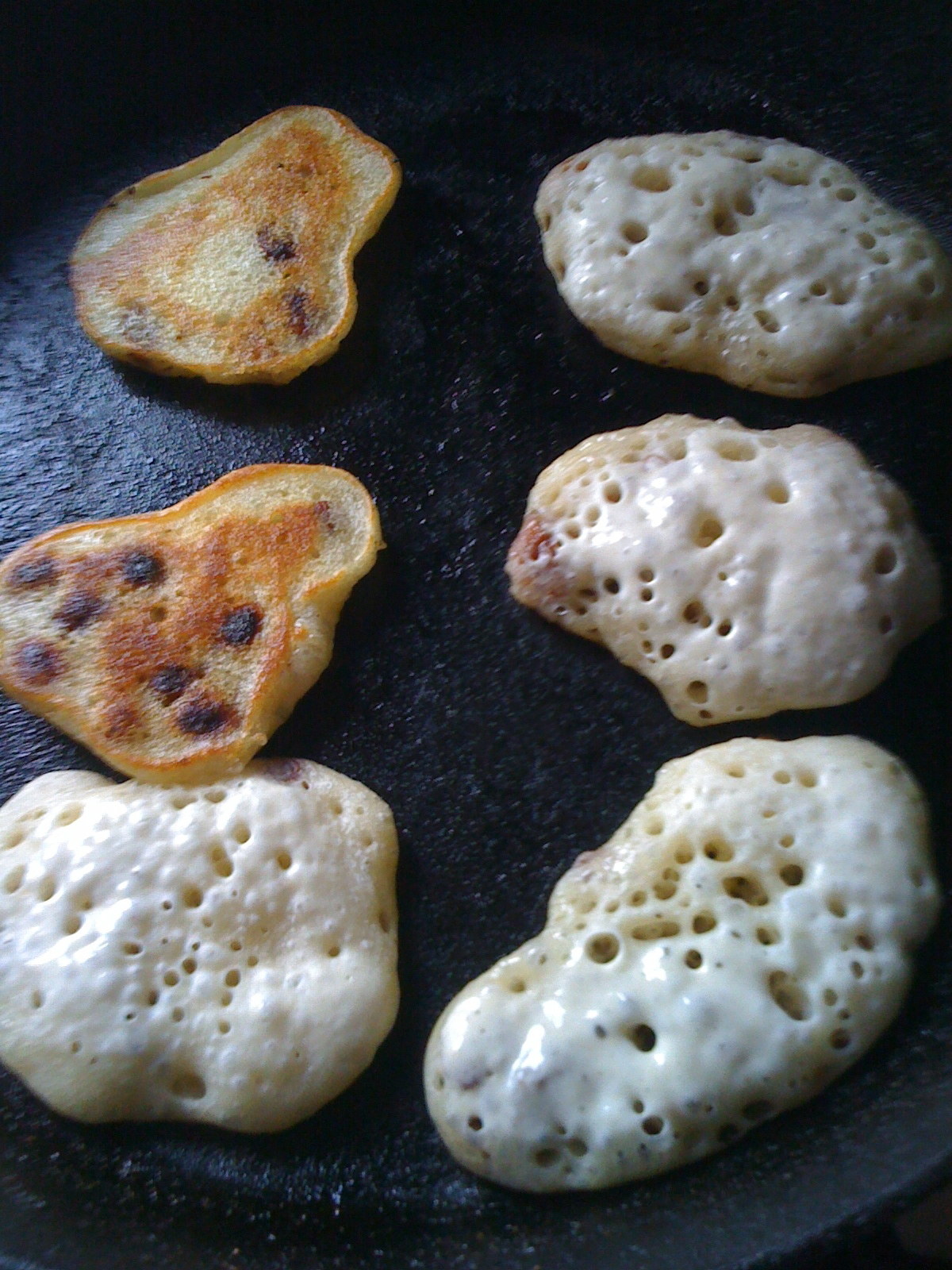 PIKELETS (FREEFORM CRUMPETS)