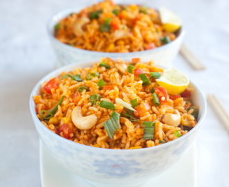 Nasi goreng- Malaysian/ Indonasian fried rice