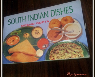 "My Second prize ""South Indian Dishes "" book and "" Mysore Kheer """