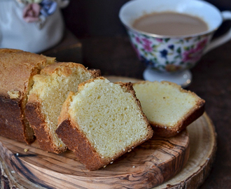 Eggless Vanilla Tea Cake