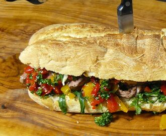 Jamie Oliver's Steak-Sandwich