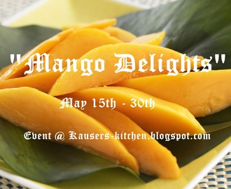 "~ My first event - ""Mango Delights"" ~"
