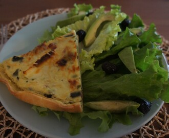 Comentario en Quiche de zapallitos italianos (calabacines ) y tocino por Budín de zapallitos italianos o Calabacines, receta chilena - Fran is in the Kitchen
