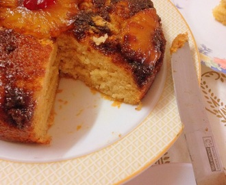 Eggless Pineapple Upside Down Cake | Fruity desserts