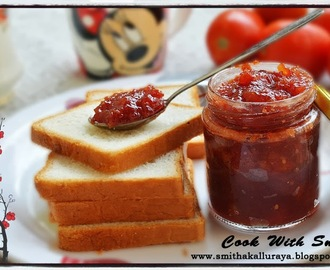 HOMEMADE TOMATO JAM - NO PRESERVATIVES !!!