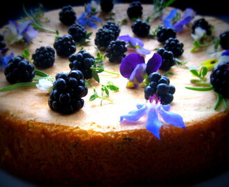 Easy Sponge Cake - with citrus, rosemary and thyme