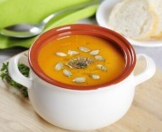 Sweet Potato & Caramelised Red Onion Soup