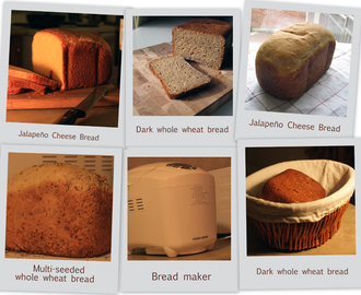 Home baked bread recipes | Bread maker recipes
