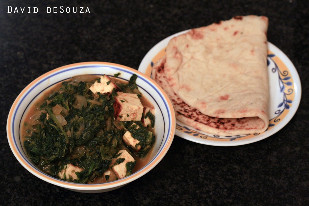 Palak Paneer | Indian Cottage Cheese with Spinach  पालक पनीर