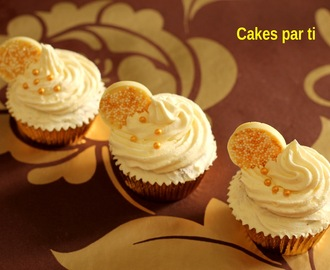CUPCAKES CON CHIPS DE CHOCOLATE  BLANCO