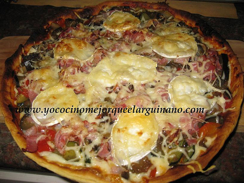 Pizza - Quiché de verduras y bacon