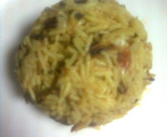 Tomato Pulao in Coconut Milk