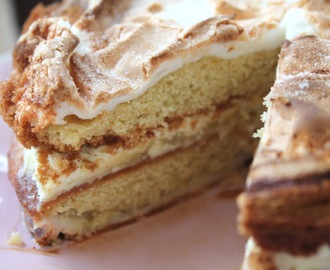 Sinner Thursdays - Nigella Lawson's Lemon Meringue Cake