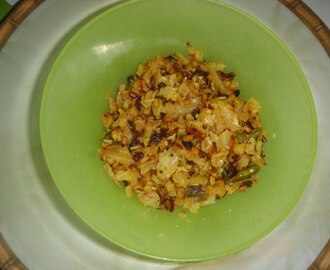 CABBAGE MOONGDAL FRY