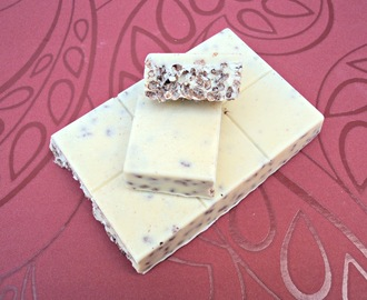 Turrón de chocolate blanco