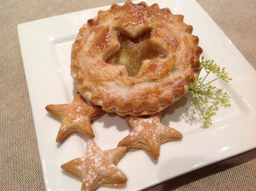 Labor Day Star Gazy Apple Pies