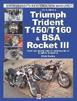 How to Restore Triumph Trident T150/T160 &; BSA Rocket III