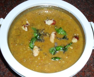 Vazhaipoo Palakottai Koottu - Banana Blossom And Jack Fruit Seeds Cooked With Lentils