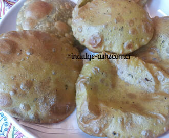 Avocado Poori- Avocade puffed bread-Kids Lunch box