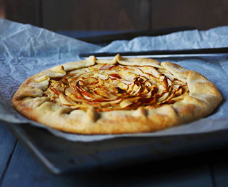 Rustic French Apple Galette