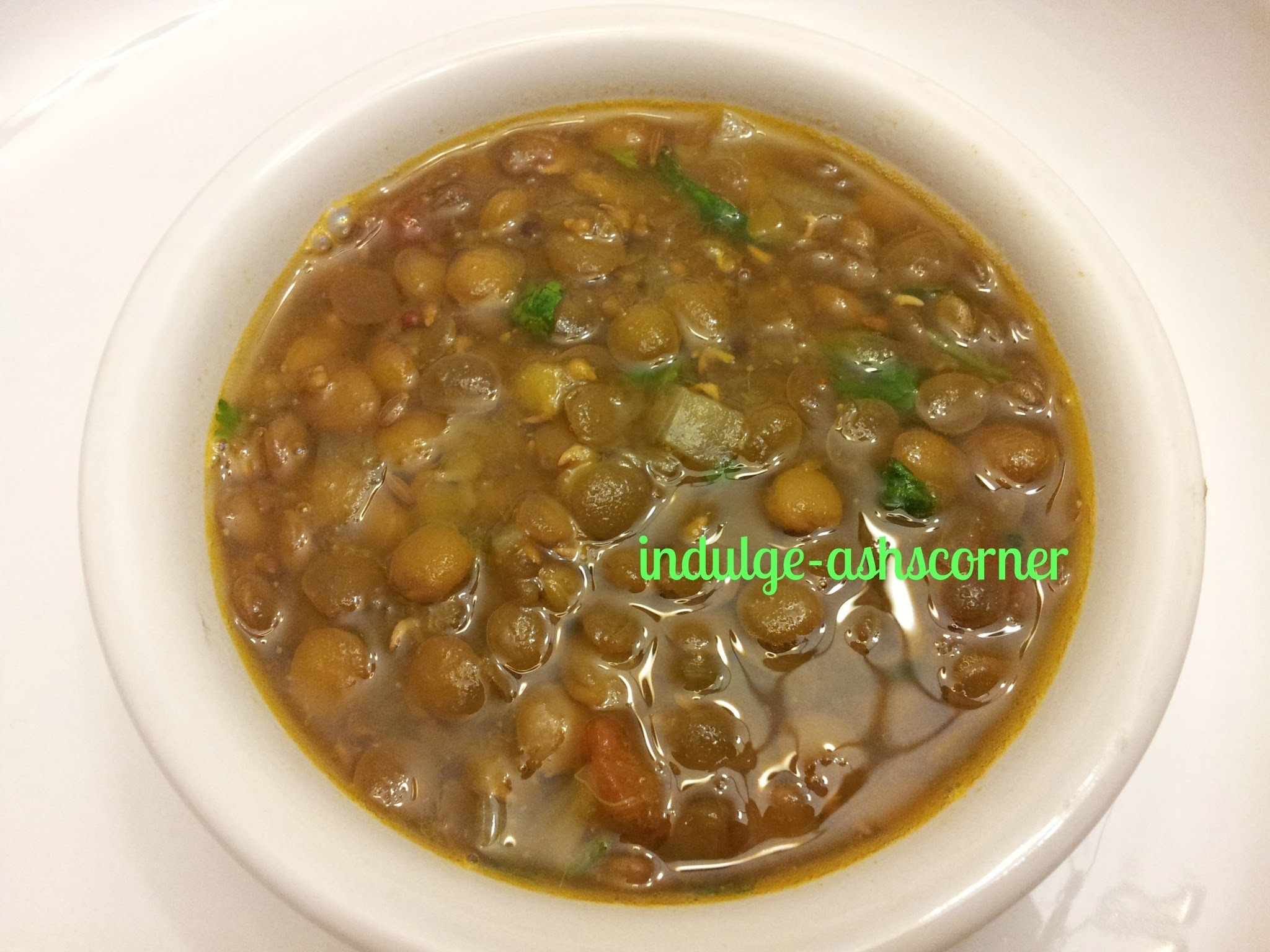 Masoor chi Usal/ Orange lentil curry