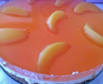 Cheesecake de Pêssego Royal