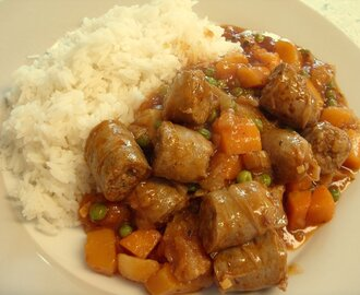 Sausage & Butternut Casserole - one for Nanna!