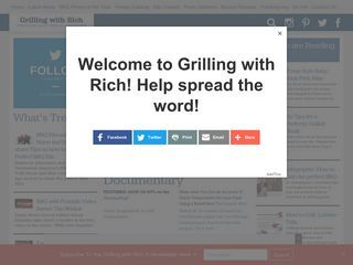 Grilling With Rich
