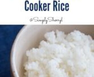 Perfect Pressure Cooker Rice