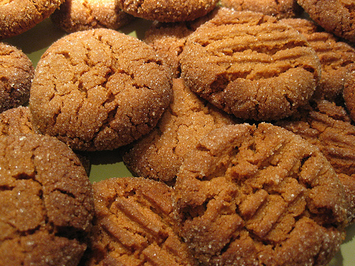 Cookies de Amendoim