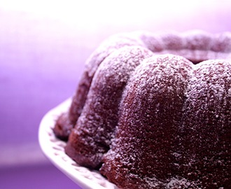 Bundt Cake de chocolate con leche.