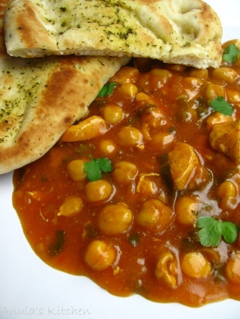 Chicken and chickpea stew...