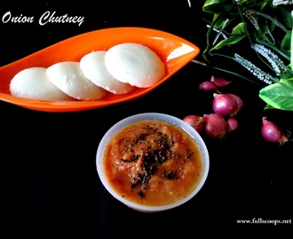 Onion Chutney Recipe / Vengaya Chutney Recipe