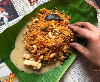 Chettinad Pulav | Flavourful Rice Recipe from Chettinadu