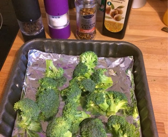 Healthy and yummy broccoli snack.