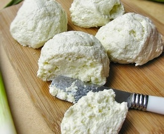Polish white cheese - twarog / twarozek...