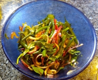 Quick French Bean salad