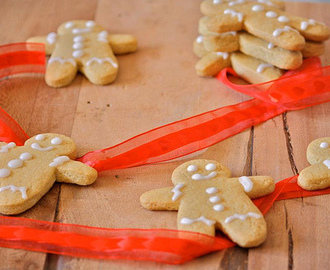 Gingerbread men - omini di pan di zenzero