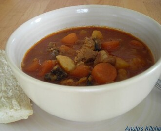 Lamb stew - comfort food...